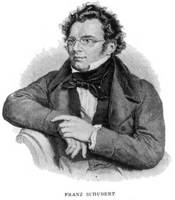 Schubert drawing