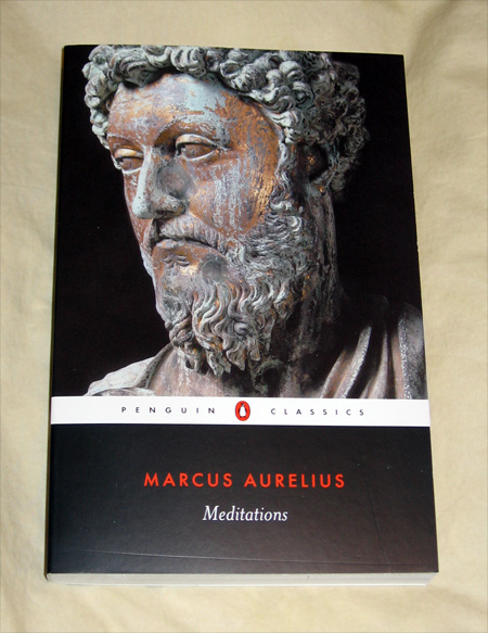 Meditations by Marcus Aurelius book photo
