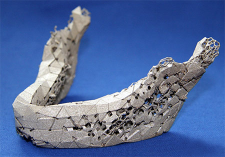 Artificial Jaw Bone photo