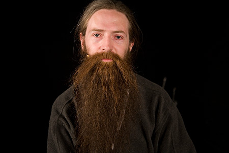Biogerontologist Aubrey de Grey photo