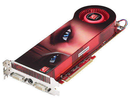 AMD/ATI Radeon GPU Card photo