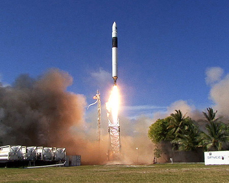 SpaceX Falcon 1 Rocket Launch photo
