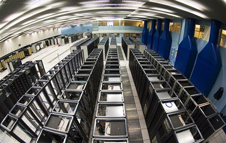 CERN LHC Grid Computing Data Center photo