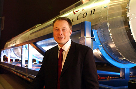 Elon Musk founder of SpaceX photo