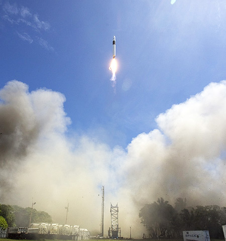 SpaceX Falcon 1 Flight 4 Launch photo