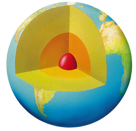 Earth Interior Core