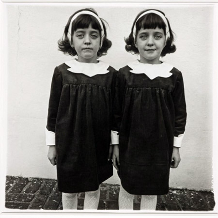 Diane Arbus identical twins photo
